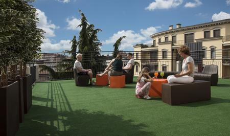 Key Hotel | Vicenza | Our Panoramic Terrace in a strategic position